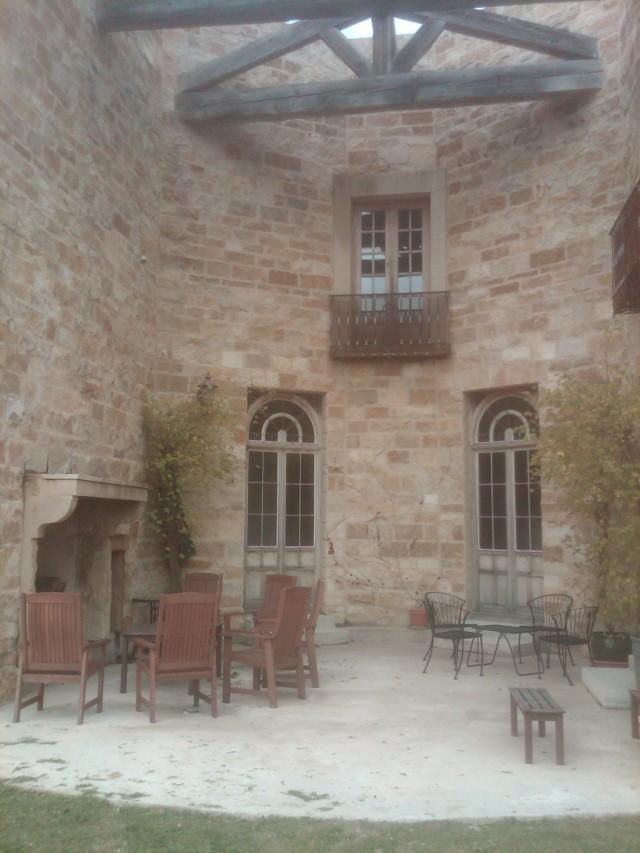 Sunstone Estate Courtyard