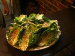 """Little Gems"" Caesar Salad at Blue Ribbon Artisan Pizzeria"