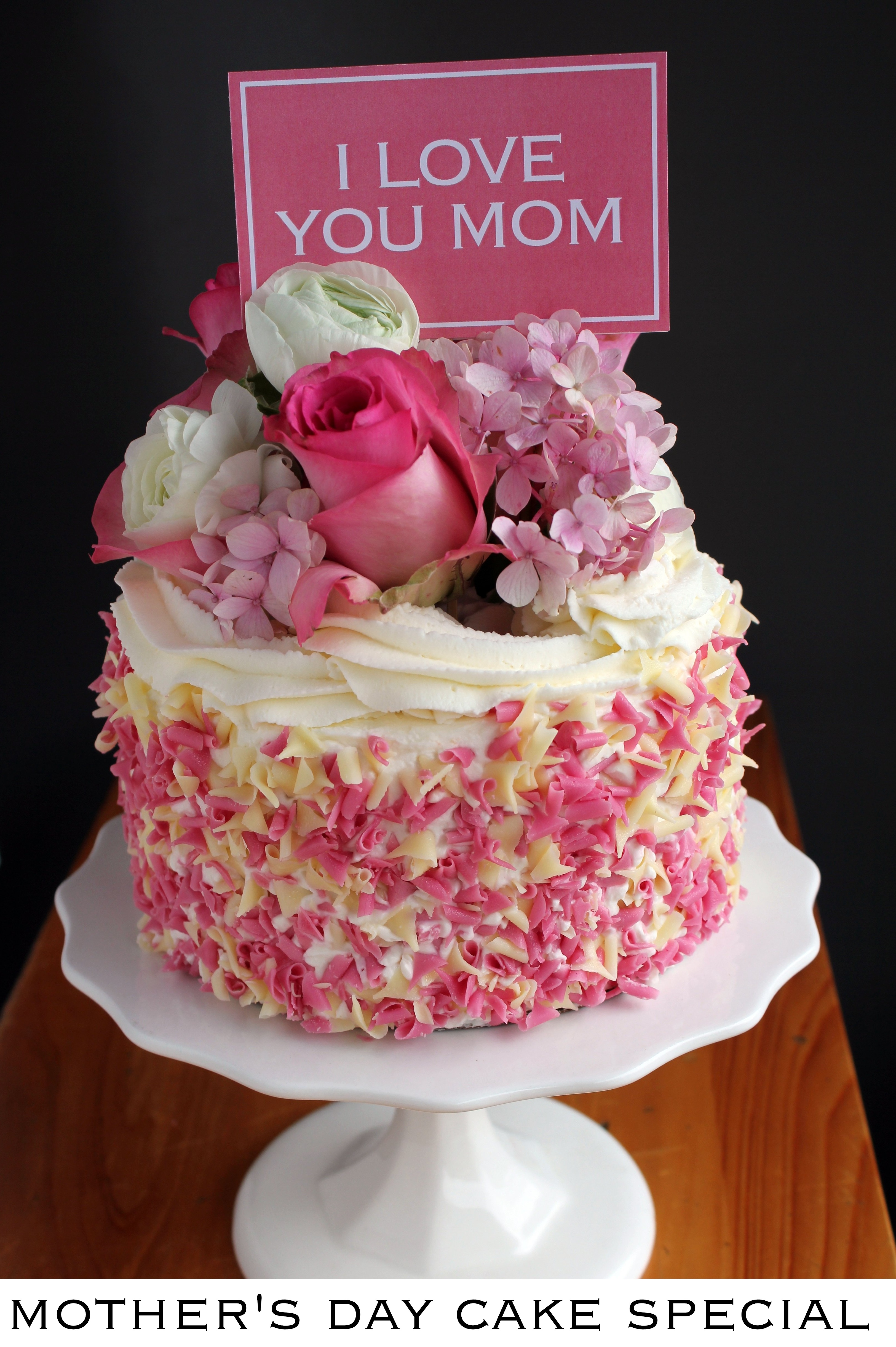 Cake Pictures For Mom : Birthday Cake For Mom - CAKE DESIGN