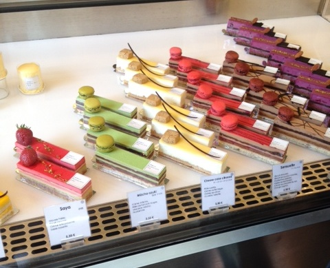 Cake Shop Near Le Jardin De Luxembourg