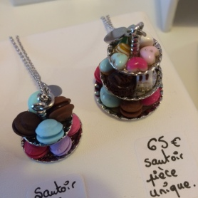 Pastry inspired jewelry.