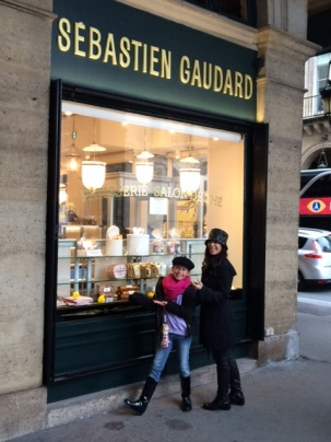 Sebastian Gaudard serves incredible pastry and tea near the Lourve.