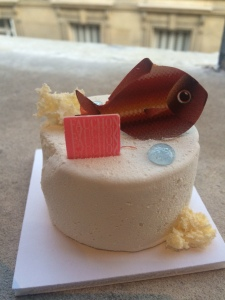 Creative Fauchon pastry - Sahara's favorite.